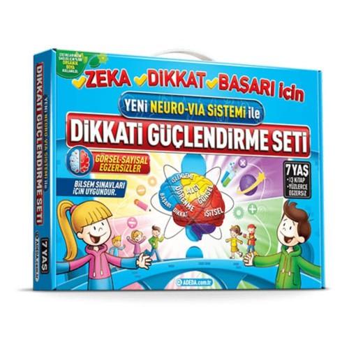 Adeda Dikkati Güçlendirme Seti (7 Yaş) - Osman Abalı