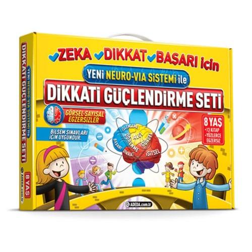Adeda Dikkati Güçlendirme Seti (8 Yaş) - Osman Abalı