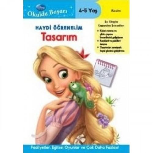 Disney Okulda Başarı Haydi Öğrenelim - Tasarım 4-5 Yaş - Kolektif