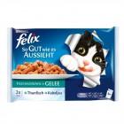 Felix Balıklı Yaş Kedi Maması 4 Adet x 100 gr (Avantajlı Paket)