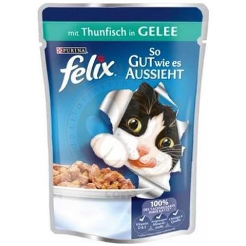 Felix Pouch Ton Balıklı Yaş Kedi Maması 100 gr