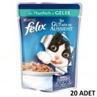 Felix Pouch Ton Balıklı Yaş Kedi Maması 100 gr x 20 Adet