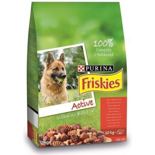 Friskies Active Etli Yüksek Enerji Aktif Köpek Maması 10 kg