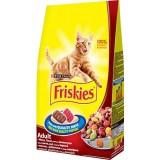 Friskies Etli Tavuklu ve Sebzeli Yetişkin Kedi Maması 10 kg