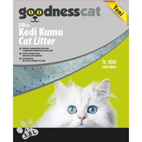 Goodnesscat Silica Kedi Kumu 3,8 lt