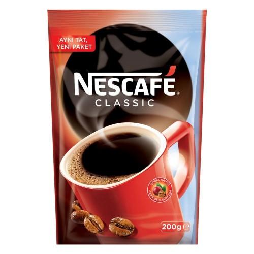 Nescafe Classic Poşet 200 gr x 2 Adet
