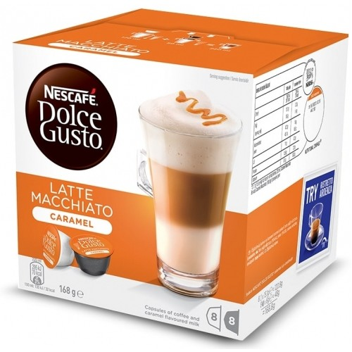 Nescafe Dolce Gusto Coffee Caramel Latte Macchiato 16 Kapsül