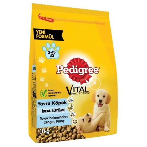 Pedigree Vital Protection Kümes Hayvanli Yavru Köpek Mamasi 3 kg