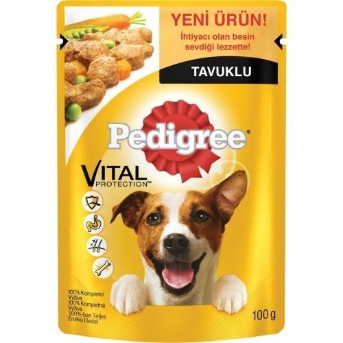 Pedigree Yetişkin Tavuklu Köpek Pouch 100 gr