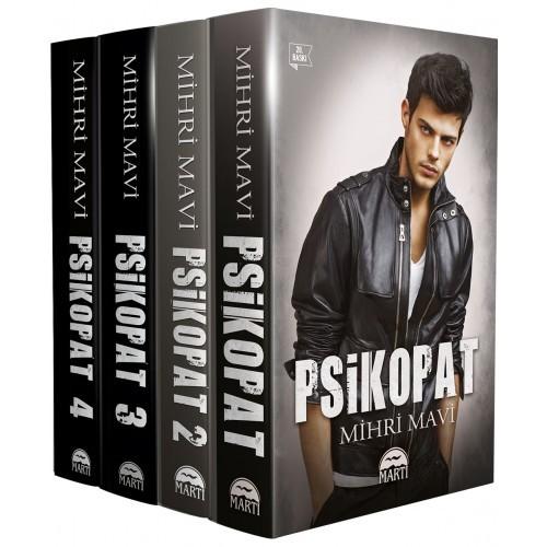 Psikopat Seti 4 Kitap - Mihri Mavi