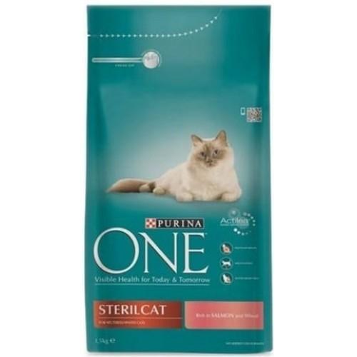 Purina One Somonlu Kısırlaştırılmış Kedi Maması 1.5 kg