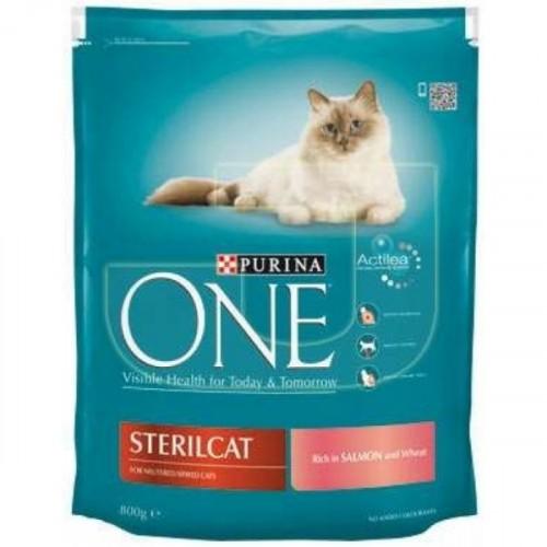 Purina One Steril Somonlu Kısırlaştırılmış Kedi Maması 800 gr