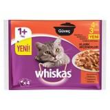 Whiskas Güveç Klasik Seçenekler Kedi Pouch 85gr 4 Al 3 Öde