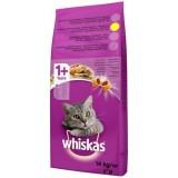 Whiskas Kuru Yetişkin Tavuk & Sebze Kedi maması 14 kg