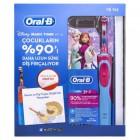 Oral-B Çocuk Şarjlı Diş Fırçası D12 Frozen (Kitap Hediyeli)