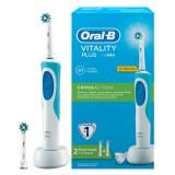 Oral-B D12 Cross Action Şarjlı Diş Fırçası 2 Yedek Başlık