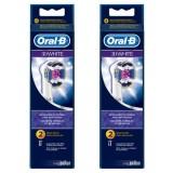 Oral-B EB18 3D White Diş Fırçası Yedeği 2 li x 2 Adet