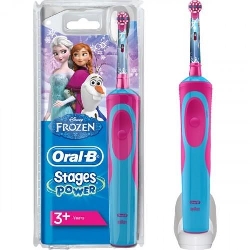 Oral-B Çocuklar İçin Şarj Edilebilir Diş Fırçası Frozen Özel Seri