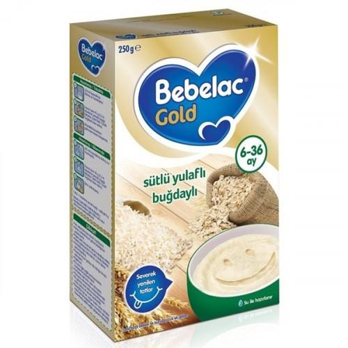 Bebelac Gold Sütlü Yulaflı Buğdaylı 250 gr