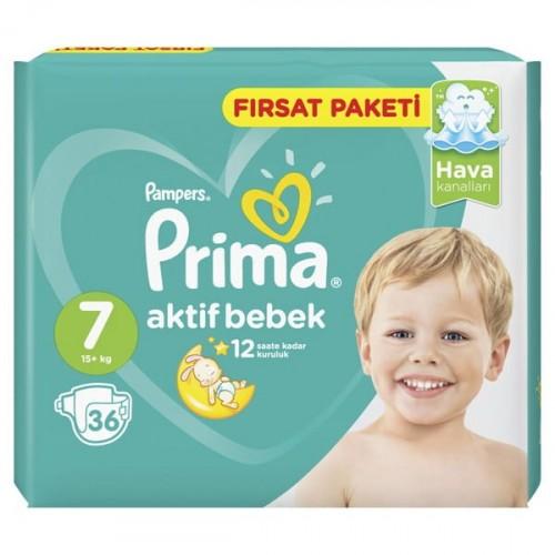 Prima Bebek Bezi Aktif Bebek XX Large 7 No 36 lı