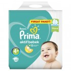 Prima Bebek Bezi Fırsat Paketi Maxi Plus 4+ Beden 62 li