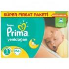 Prima Bebek Bezi Fırsat Paketi Yenidoğan 1 No 156 lı