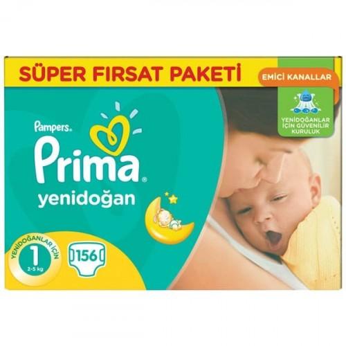 Prima Bebek Bezi Fırsat Paketi Yenidoğan 1 No 132 li