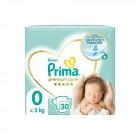 Prima Bebek Bezi Premium Care 0 Beden Prematüre Tekli Paket 30 Adet