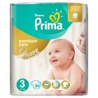 Prima Bebek Bezi Premium Care Dev Ekonomi Paketi 3 Beden 86 Adet