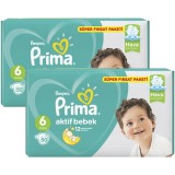 Prima Bebek Bezi Süper Fırsat Paketi Extra Large 6 No 50 li x 2 Adet