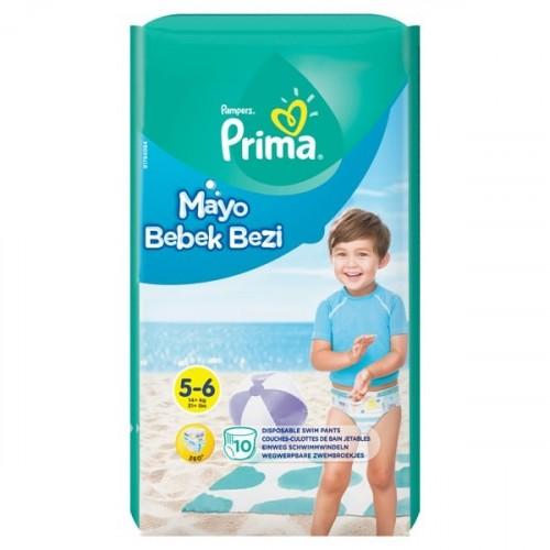 Prima Mayo Bebek Bezi 5 - 6 Beden 10 lu