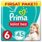 Prima Külot Bebek Bezi 6 Beden Ekstra Large Fırsat Paketi 90 Adet