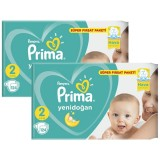 Prima Bebek Bezi Süper Fırsat Paketi Mini 2 No 124 lü x 2 Adet