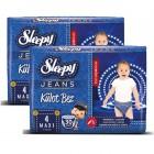 Sleepy Jeans Külot Bez Maxi 4 No 30 lu x 2 Adet
