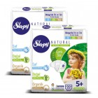 Sleepy Natural Bebek Bezi Junior Plus 5+ 22 li x 2 Adet