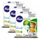 Sleepy Natural Bebek Bezi Junior Plus 5+ 22 li x 3 Adet