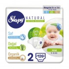 Sleepy Natural Bebek Bezi Mini 2 No 42 li x 3 Adet