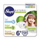 Sleepy Natural Bebek Bezi X Large Plus 6+ no 18 li x 3 Adet