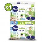 Sleepy Natural Külot Bez Maxi 4 No 60 lı x 4 Adet